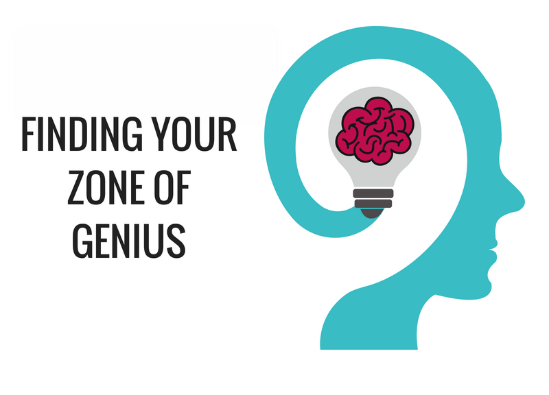 how to find your genius zone
