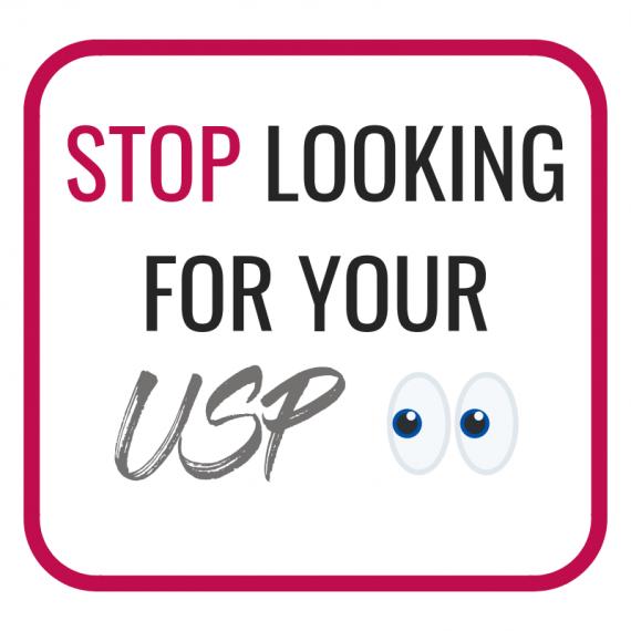 stop looking usp